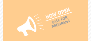 Call for Programs Banner