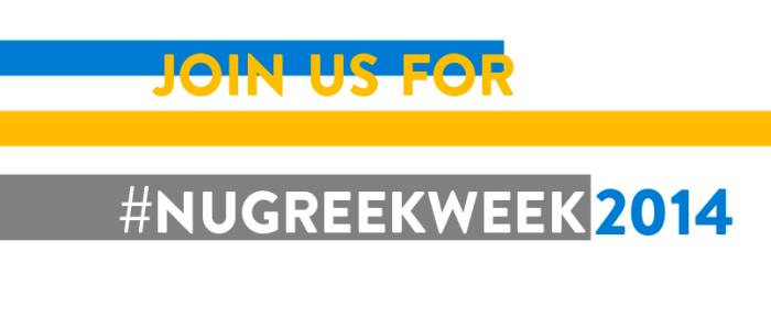 #NUGreekWeek2014